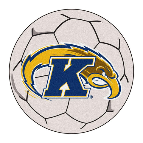 Kent Golden Flashes NCAA Soccer Ball Round Floor Mat (29)