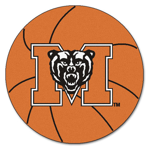 Mercer Bears NCAA Basketball Round Floor Mat (29)