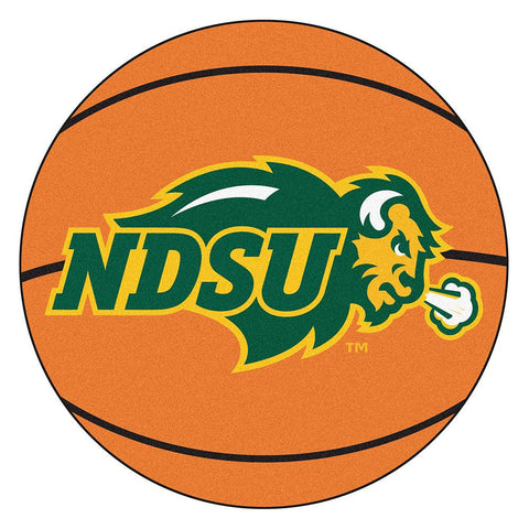 North Dakota State Bison NCAA Basketball Round Floor Mat (29)