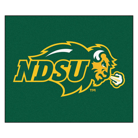 North Dakota State Bison NCAA Tailgater Floor Mat (5'x6')