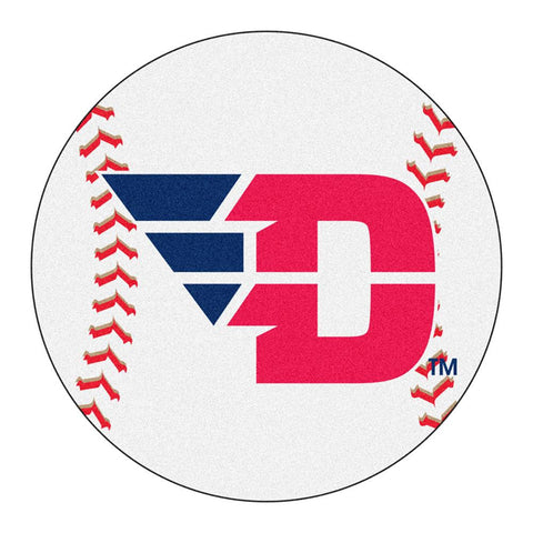 Dayton Flyers NCAA Baseball Round Floor Mat (29)
