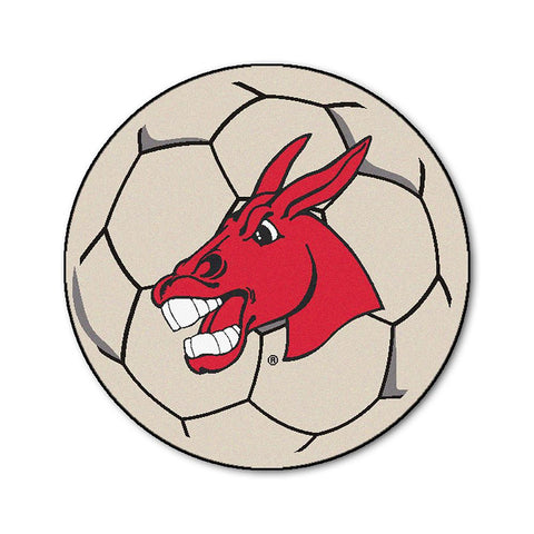 Central Missouri State NCAA Soccer Ball Round Floor Mat (29)