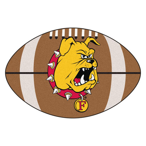 Ferris State Bulldogs NCAA Football Floor Mat (22x35)