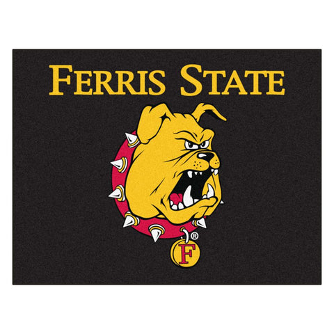 Ferris State Bulldogs NCAA All-Star Floor Mat (34in x 45in)