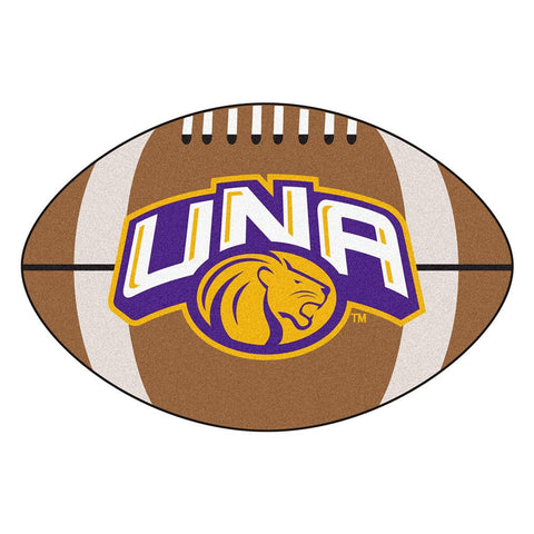 North Alabama Lions NCAA Football Floor Mat (22x35)