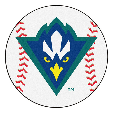 North Carolina Wilmington Seahawks NCAA Baseball Round Floor Mat (29)