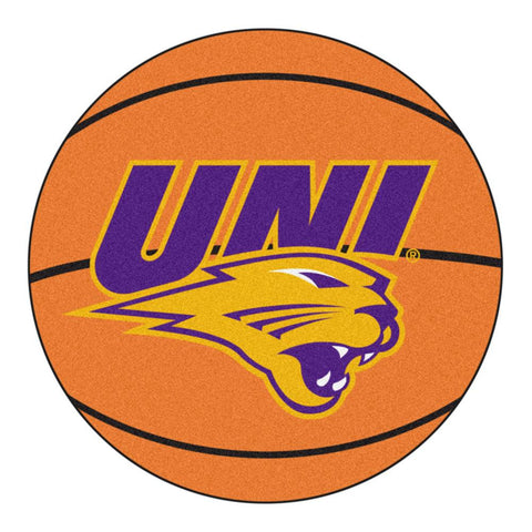 Northern Iowa Panthers NCAA Basketball Round Floor Mat (29)