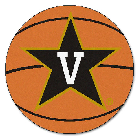 Vanderbilt Commodores NCAA Basketball Round Floor Mat (29)
