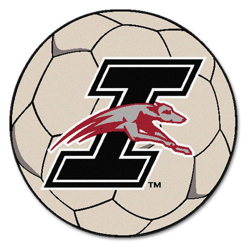 Indianapolis Greyhounds NCAA Soccer Ball Round Floor Mat (29)