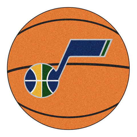 Utah Jazz NBA Basketball Mat (29 diameter)