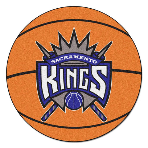 Sacramento Kings NBA Basketball Mat (29 diameter)