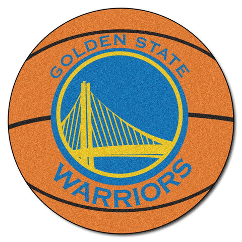 Golden State Warriors NBA Basketball Mat (29 diameter)