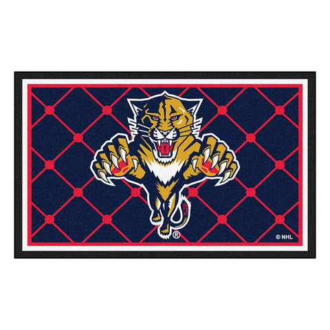 Florida Panthers NHL 4x6 Rug (46x72)
