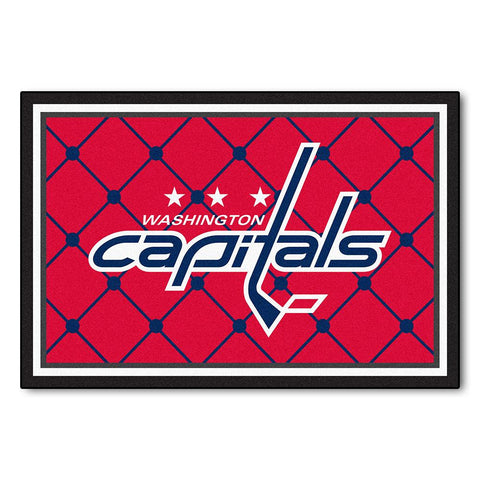 Washington Capitals NHL 5x8 Rug (60x92)