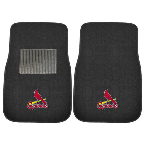 St. Louis Cardinals MLB 2-pc Embroidered Car Mat Set