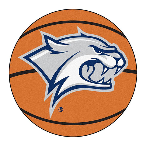 New Hampshire Wildcats NCAA Basketball Round Floor Mat (29)