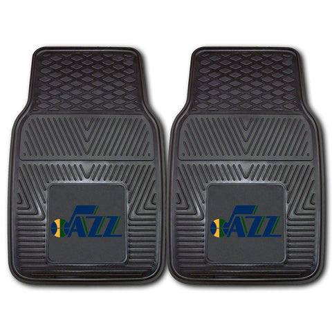 Utah Jazz NBA Heavy Duty 2-Piece Vinyl Car Mats (18x27)