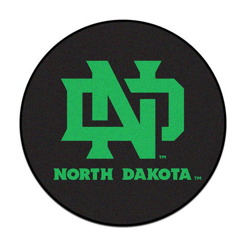 North Dakota Fighting Sioux NCAA Puck Mat (29 diameter)