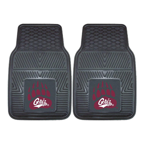 Montana Grizzlies NCAA Heavy Duty 2-Piece Vinyl Car Mats (18x27)