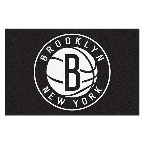 Brooklyn Nets NBA Starter Floor Mat (20x30)
