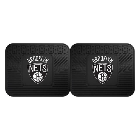 Brooklyn Nets NBA Utility Mat (14x17)(2 Pack)