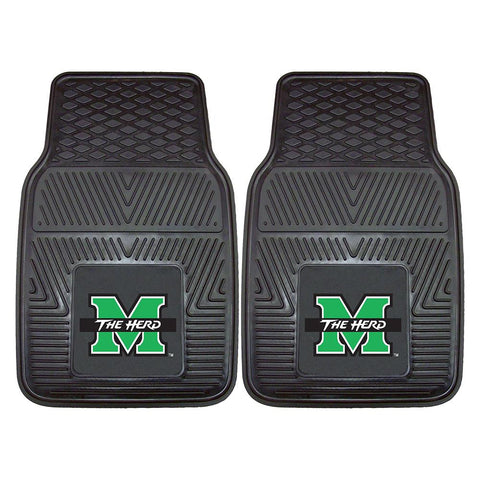 Marshall Thundering Herd NCAA Heavy Duty 2-Piece Vinyl Car Mats (18x27)