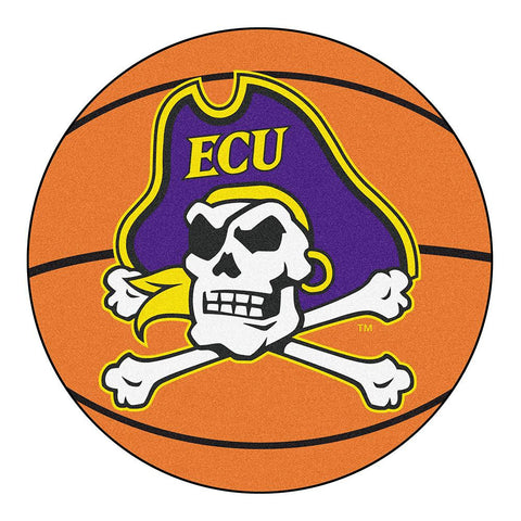 East Carolina Pirates NCAA Basketball Round Floor Mat (29)