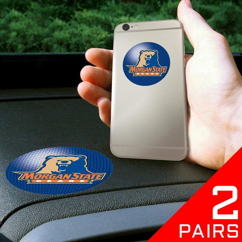 Morgan State Bears NCAA Get a Grip Cell Phone Grip Accessory (2 Piece Set)