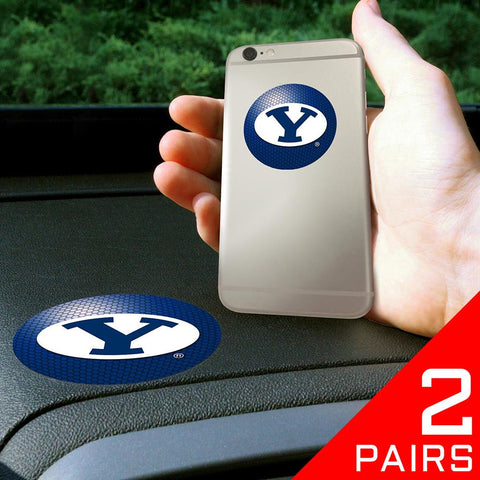 Brigham Young Cougars NCAA Get a Grip Cell Phone Grip Accessory (2 Piece Set)