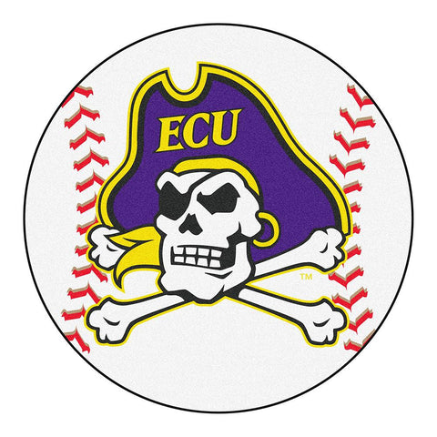 East Carolina Pirates NCAA Baseball Round Floor Mat (29)