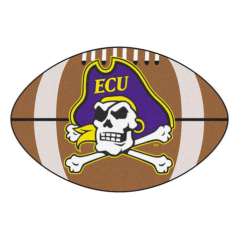 East Carolina Pirates NCAA Football Floor Mat (22x35)