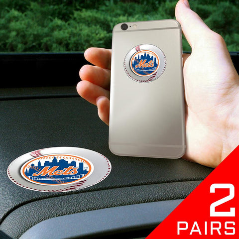 New York Mets MLB Get a Grip Cell Phone Grip Accessory (2 Piece Set)