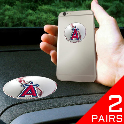 Los Angeles Angels MLB Get a Grip Cell Phone Grip Accessory (2 Piece Set)