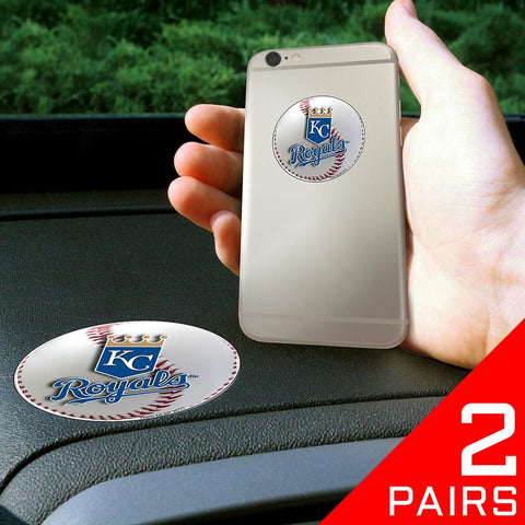 Kansas City Royals MLB Get a Grip Cell Phone Grip Accessory (2 Piece Set)