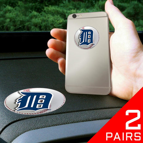 Detroit Tigers MLB Get a Grip Cell Phone Grip Accessory (2 Piece Set)