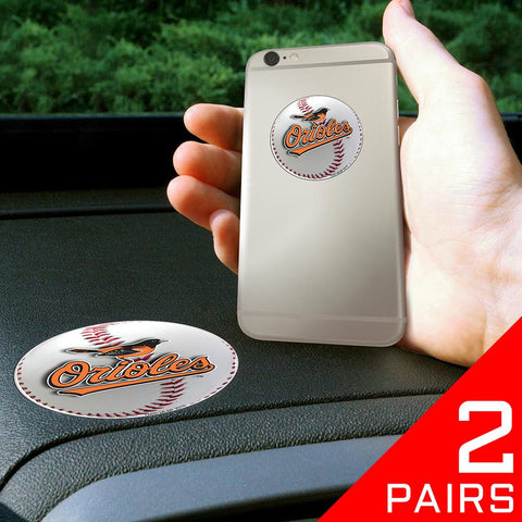Baltimore Orioles MLB Get a Grip Cell Phone Grip Accessory (2 Piece Set)