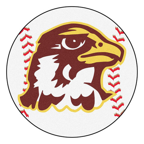 Quincy University NCAA Baseball Round Floor Mat (29)