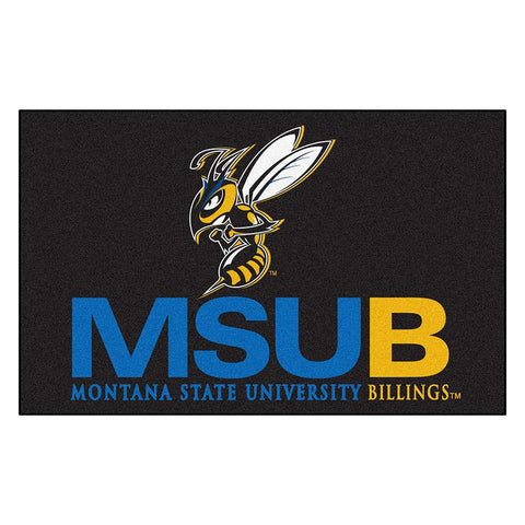 Montana State University Billings Yellowjackets NCAA Ulti-Mat Floor Mat (5x8')