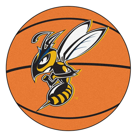 Montana State University Billings Yellowjackets NCAA Basketball Round Floor Mat (29)