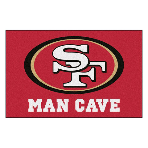 San Francisco 49ers NFL Man Cave Starter Floor Mat (20in x 30in)