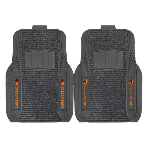 Oregon State Beavers NCAA Deluxe 2-Piece Vinyl Car Mats