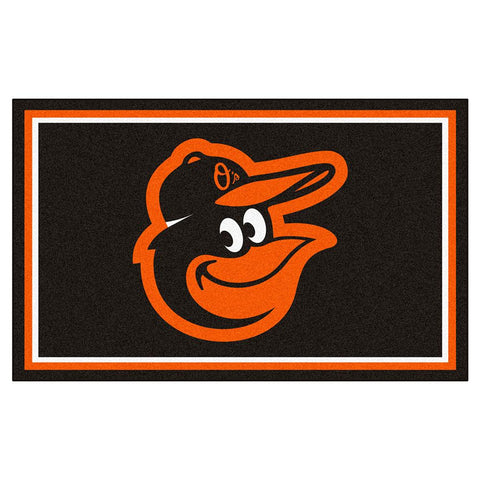 Baltimore Orioles MLB Floor Rug (4'x6')