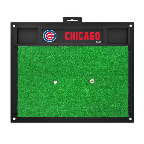 Chicago Cubs MLB Golf Hitting Mat (20in L x 17in W)