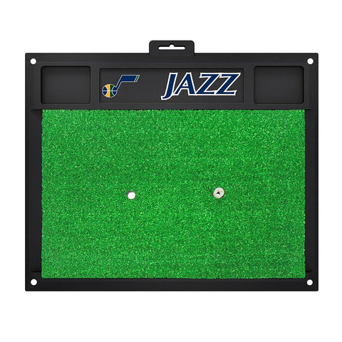Utah Jazz NBA Golf Hitting Mat (20in L x 17in W)