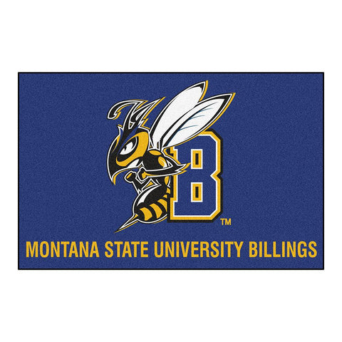 Montana State University Billings Yellowjackets NCAA Starter Floor Mat (20x30)