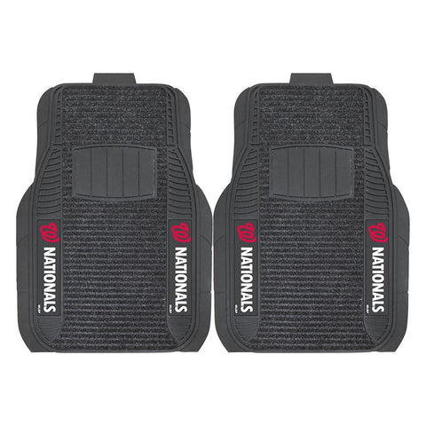 Washington Nationals MLB Deluxe 2-Piece Vinyl Car Mats