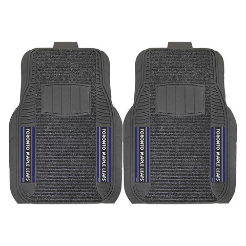 Toronto Maple Leafs NHL Deluxe 2-Piece Vinyl Car Mats (20x27)