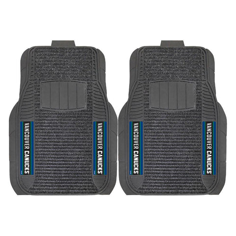 Vancouver Canucks NHL Deluxe 2-Piece Vinyl Car Mats (20x27)