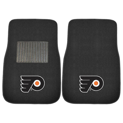 Philadelphia Flyers NHL 2-pc Embroidered Car Mat Set