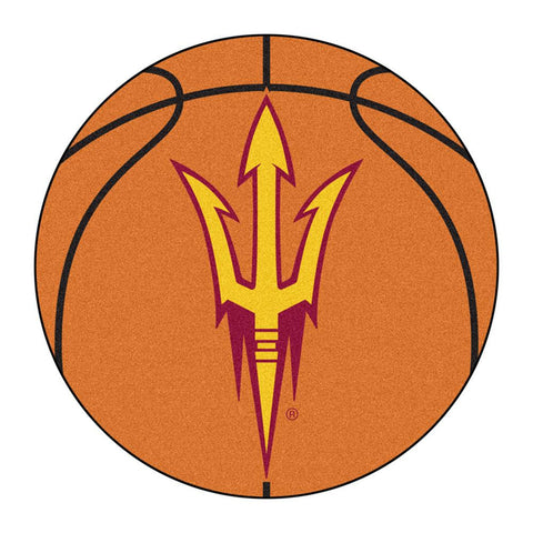 Arizona State Sun Devils NCAA Basketball Round Floor Mat (29)
